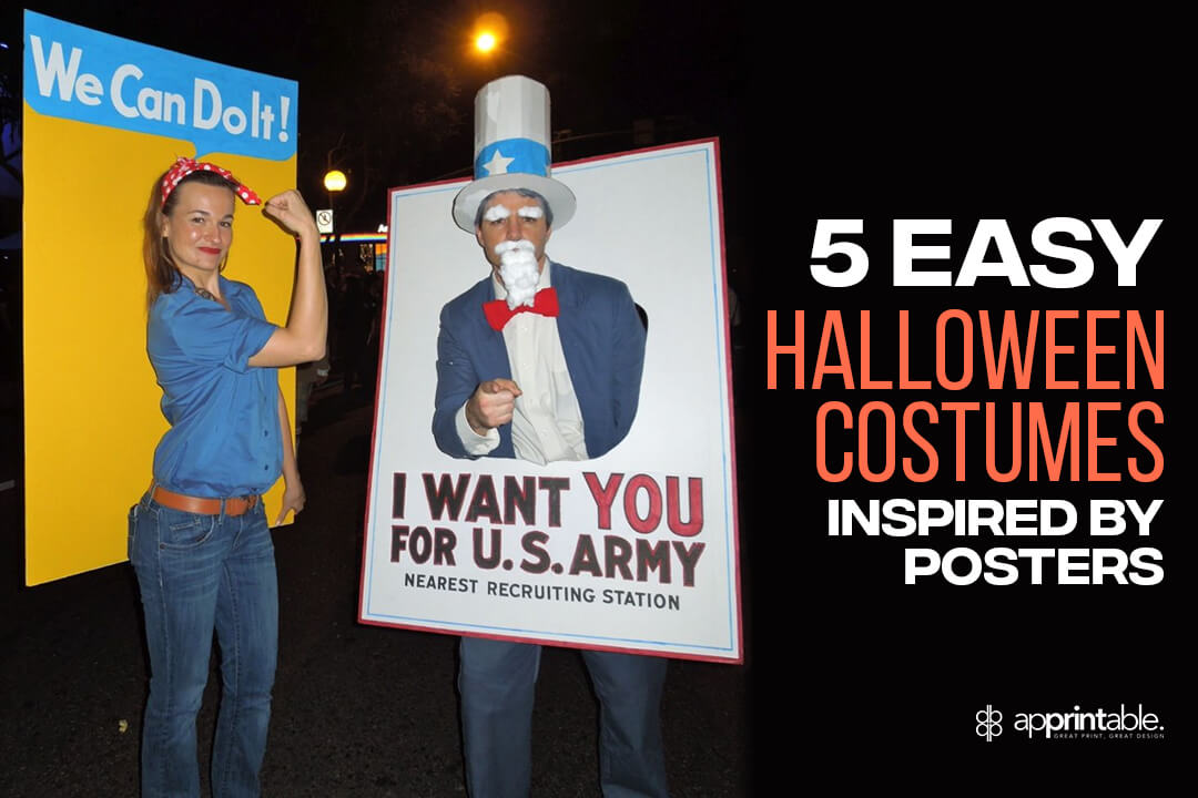 Halloween costume poster ideas blog